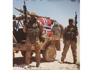 Сенсация: Норвежские солдаты…