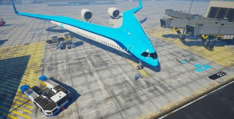 Авиакомпания KLM работает над самолётом-гитарой KLM, авиакомпания, гитара, дизайн, креатив, самолёт
