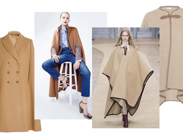 Что носить вместо пальто и куртки: что такое кейп, с чем его носить и где купить.