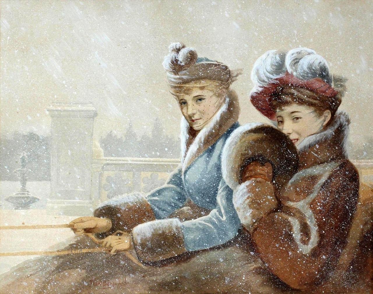 Жан Беро и его картины 1848 -1935