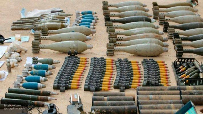 Крупный тайник в Хомсе: бойцы САА наткнулись на брошенный схрон боевиков