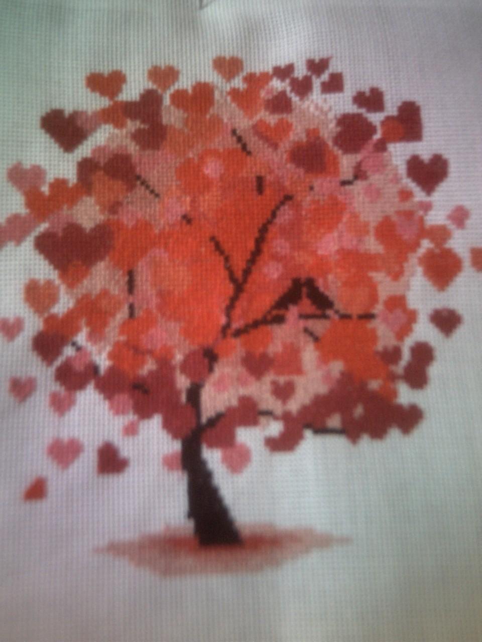 Дерево любви схема фото