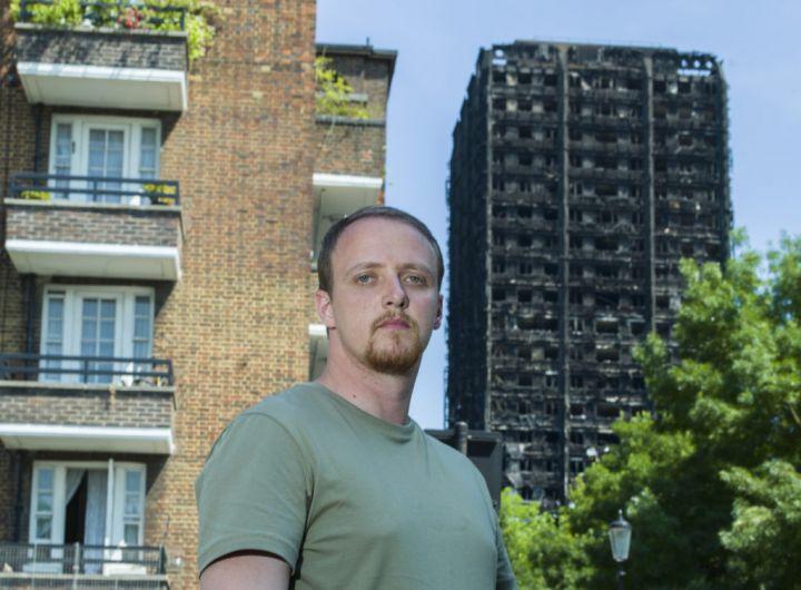 Русский из Латвии спас из горящей высотки в Лондоне 11 человек
