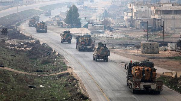 Турецкие войска направляются сирийскую провинцию Идлиб