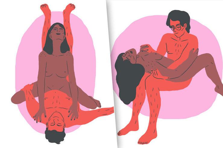 Добавь огня: 5 замечательных поз для тех, кто хочет разнообразия в сексе