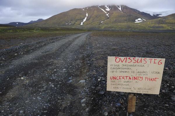 Извержение подледного вулкана Бардарбунга началось в Исландии