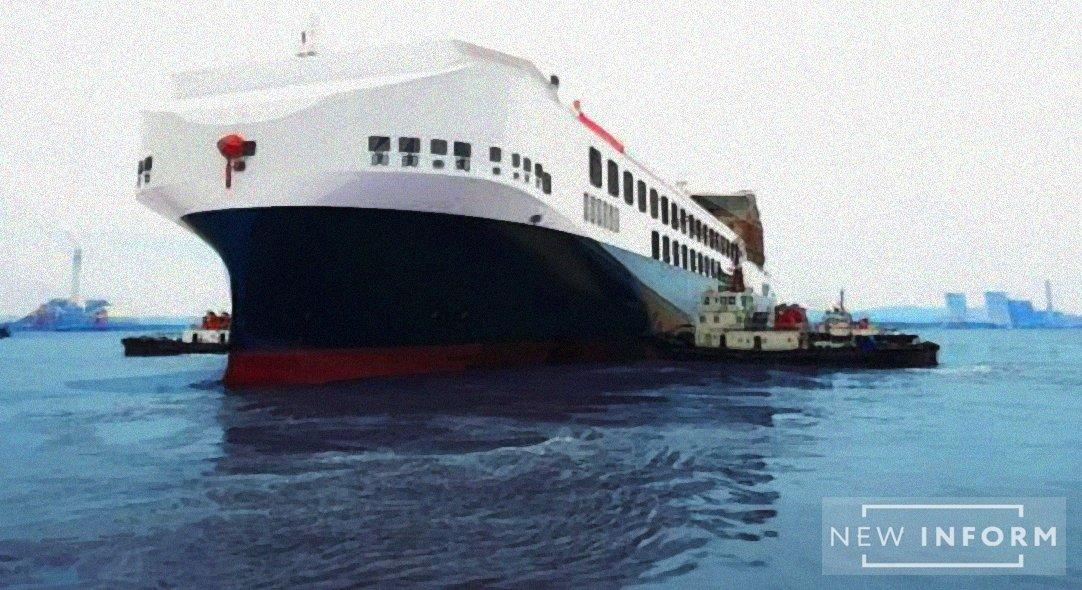 Новейший мега-ролкер со вместимостью в 450 машин спущен на воду