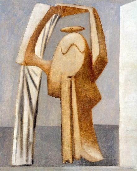 Пабло Пикассо. Купальщица с поднятыми руками. 1929 год