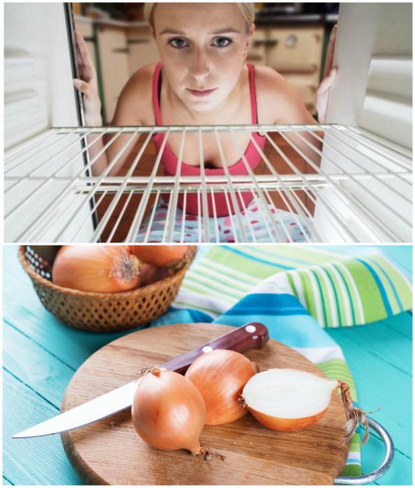 Устранить неприятные запахи в холодильнике и с поверхностей.