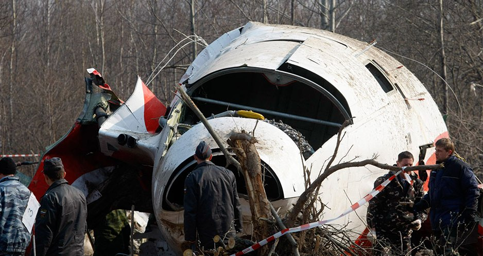 Голая правда о самолете Леха Качиньского