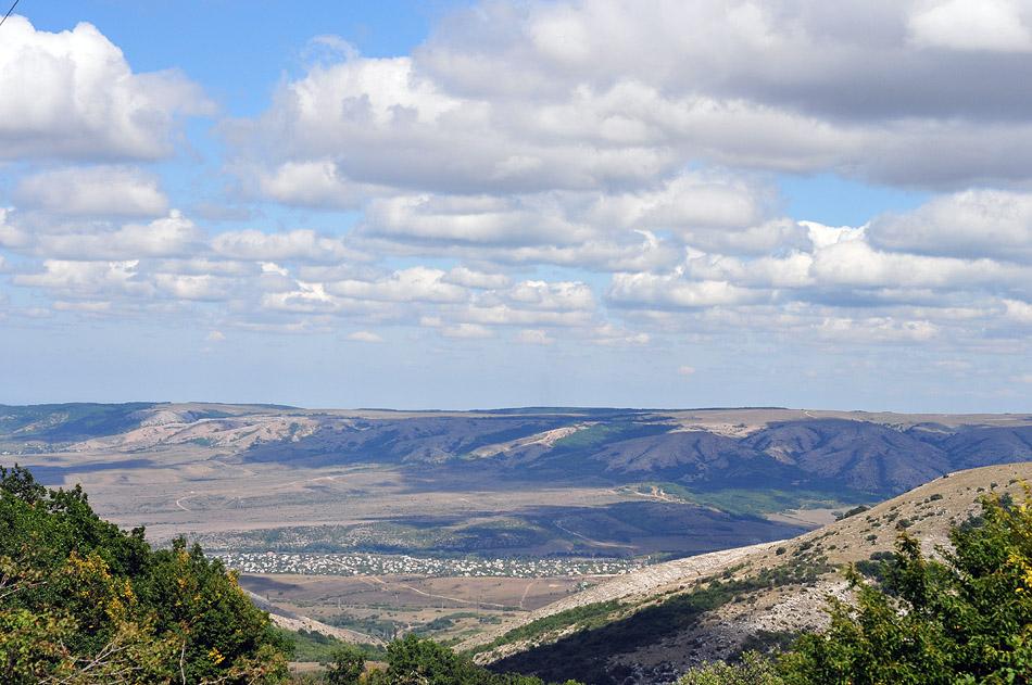 Вид на поселок Заречное.