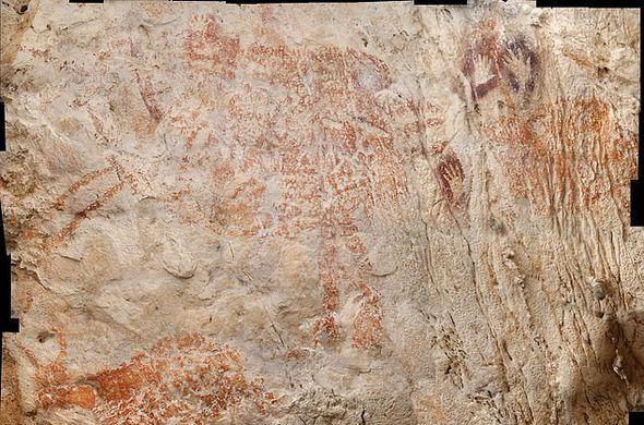 На острове Борнео нашли древнейшие в мире наскальные рисунки