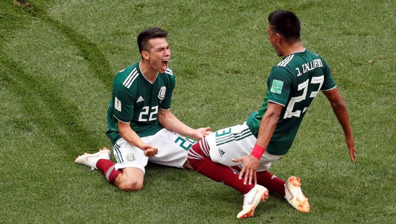 Мексика обыграла Германию