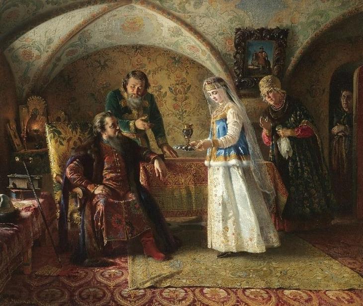 Мужчины не должны были присутствовать при приготовлении пищи Русы, женщины, запреты, пища, факты