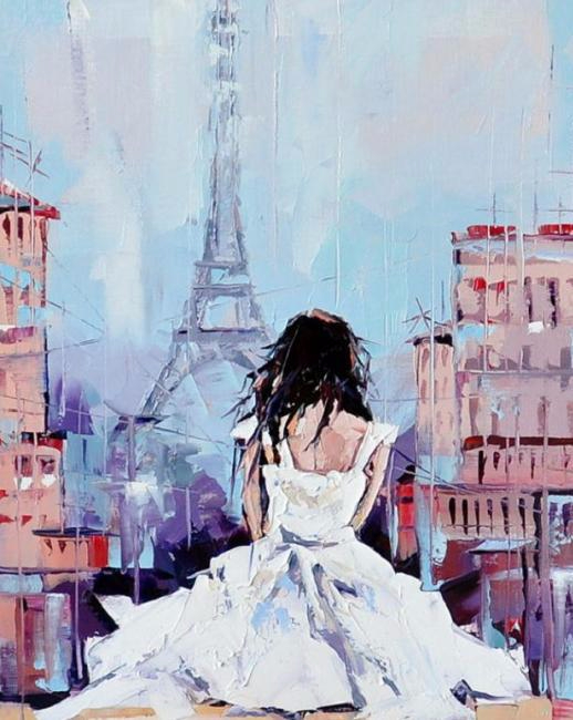 Крыши Парижа (518x650, 272Kb)