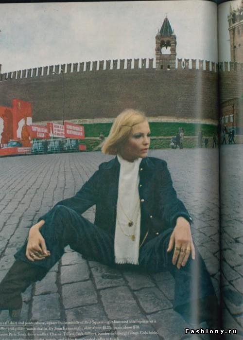 Самая скандальная модель Советского Союза - Галя Миловская.