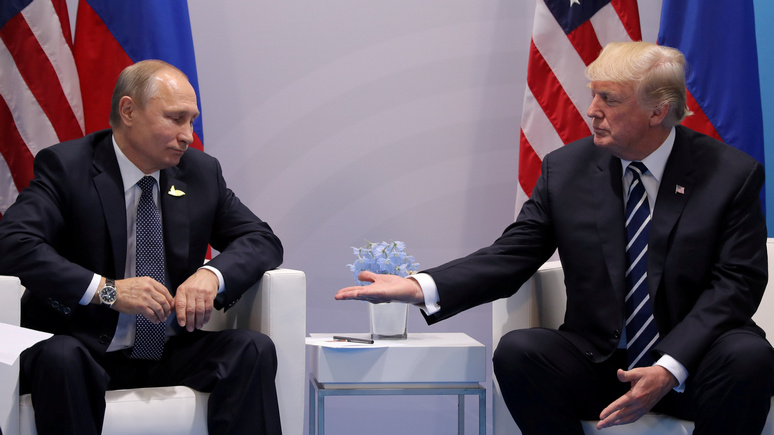 Вашингтон рад тому, что Пути…