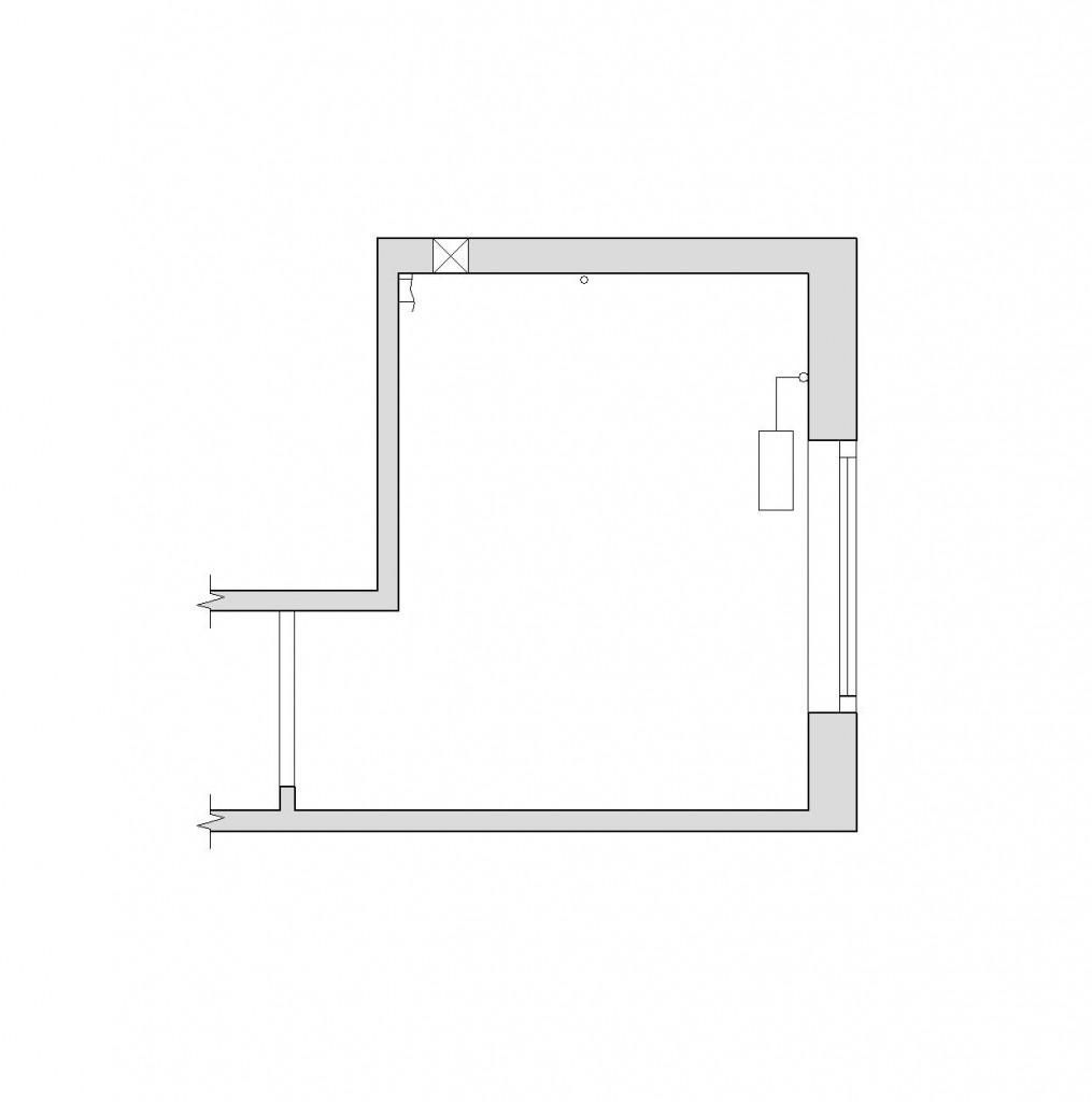 Функциональная кухня 5,6 кв.м. с мойкой у окна