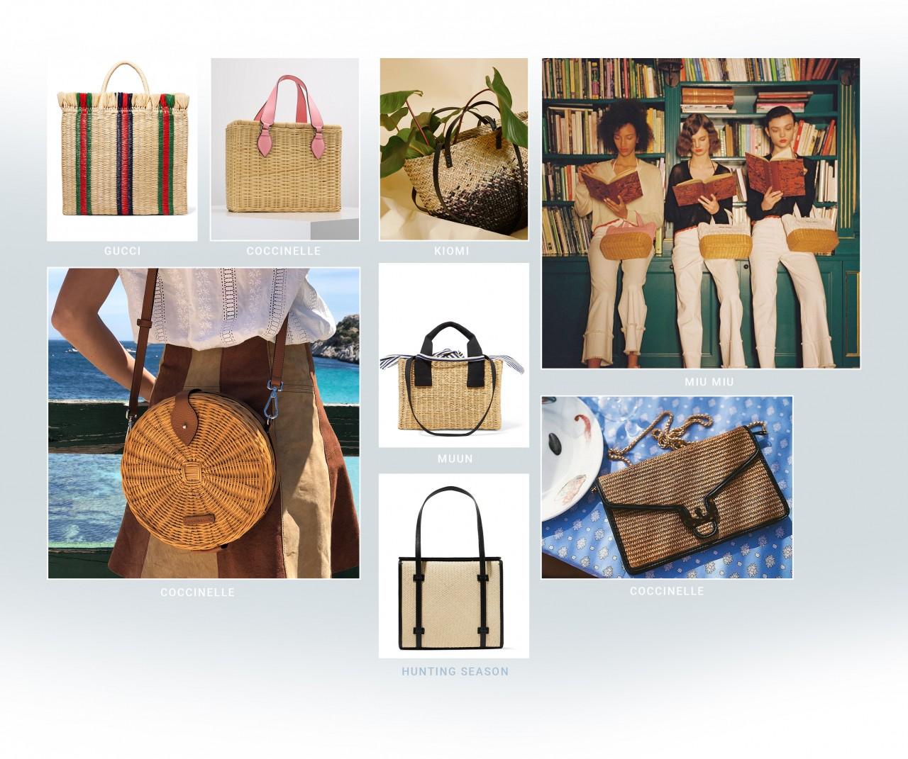 От ведерок до корзинок: 20 самых летних сумок