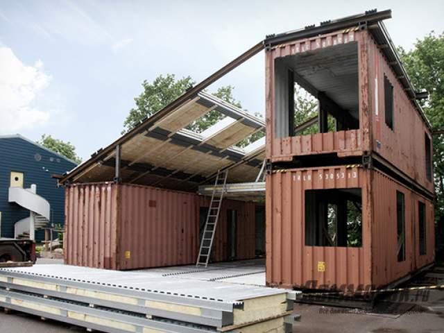 можно применять дом из контейнеров 6 метровый таблеток, заканчивая