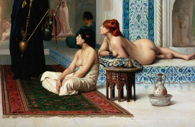 Богатые жены в гареме порно