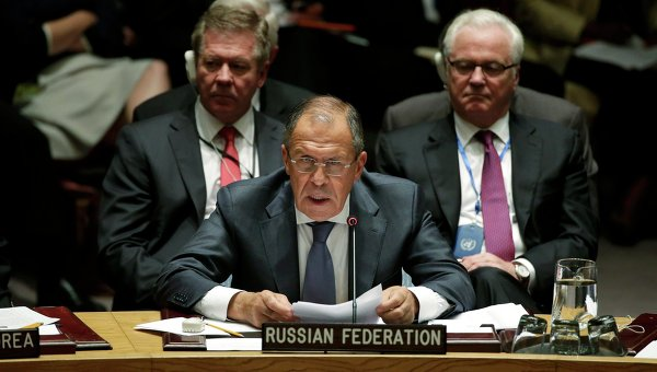 """""""Дни России"""" в ООН: Лавров призывает лечить болезнь, а не симптомы"""