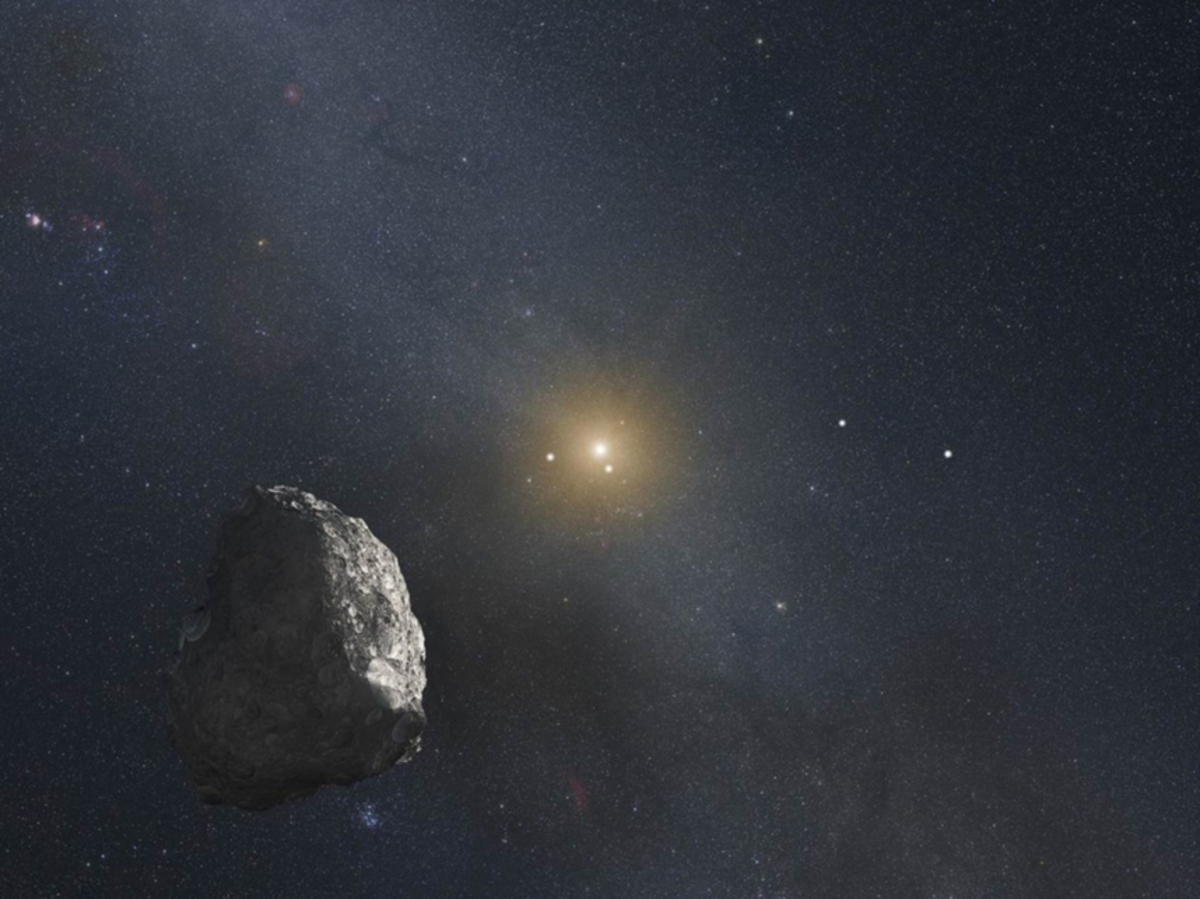 Ученые предупредили о падении на Землю астероида в 2068 году