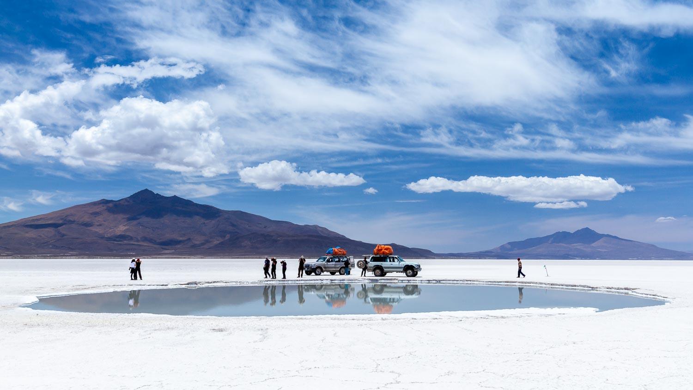 Койпаса (Salar de Coipasa), Боливия