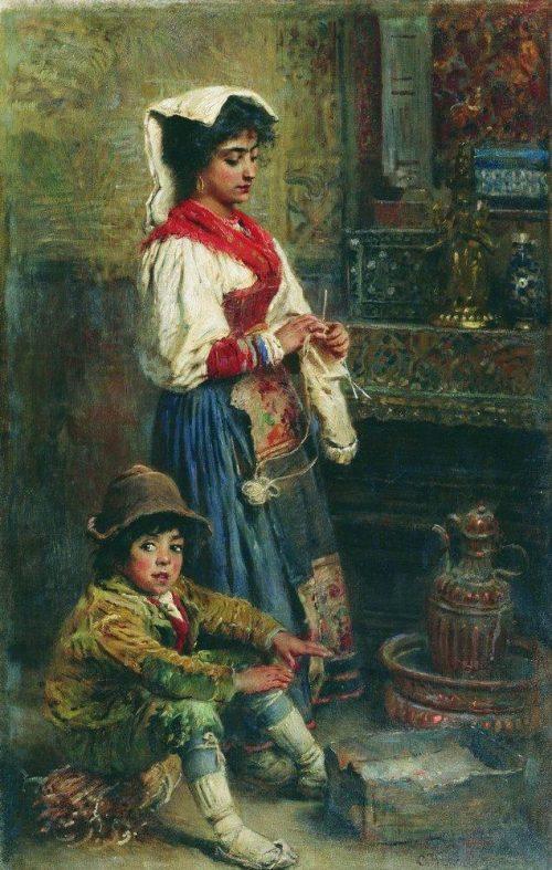 художник Константин Маковский – 3-14