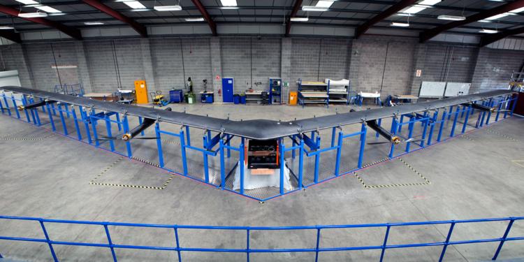 Facebook отказывается от разработки своего высотного беспилотника