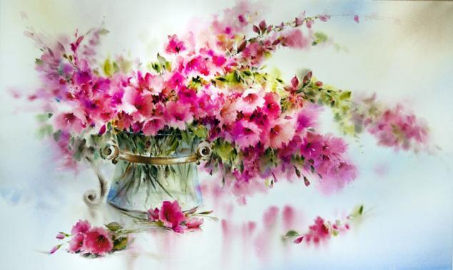 И в сердце распускаются цветы: прекрасные акварели Mohammad Yazdchi