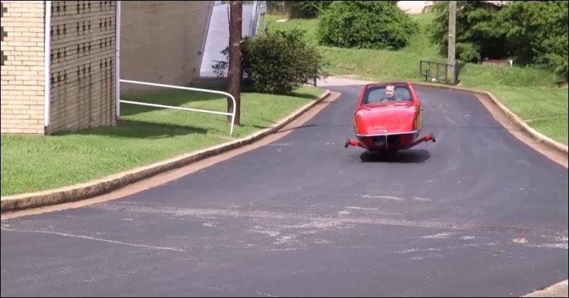 Двухколесный автомобиль Gyro-x