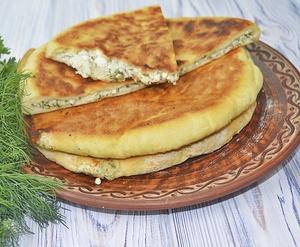 Быстрые хачапури с сыром на …