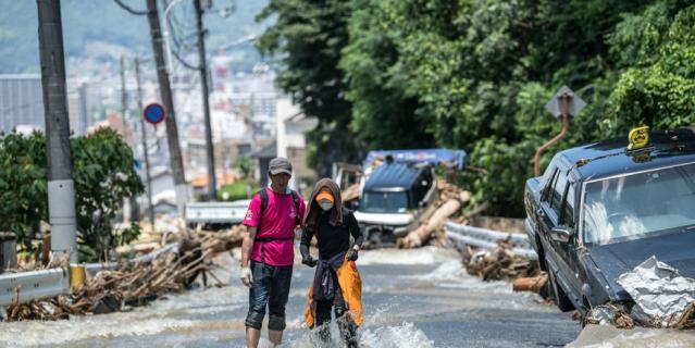 СМИ: Число жертв потопа в Японии увеличилось