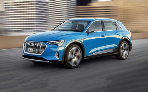 15 фактов о первом электромобиле Audi — кроссовере E-Tron