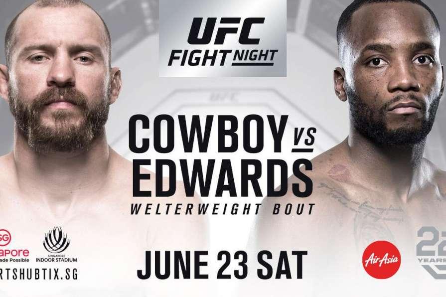 Файт-кард турнира UFC Fight …