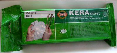 масса для моделирования своими руками застывающая на воздухе KERA plast
