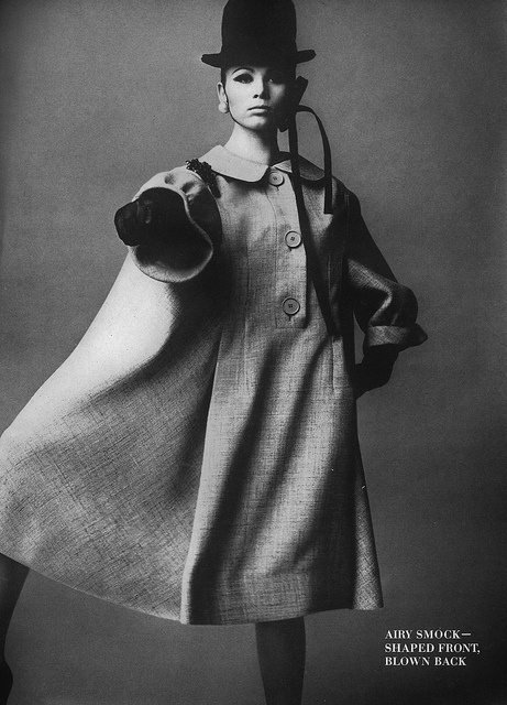 July Vogue 1963 by Irving Penn
