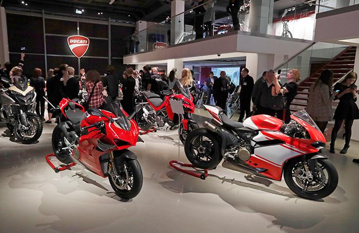 Стиль Ducati. В Петербурге открылась выставка мотоциклов известной итальянской марки