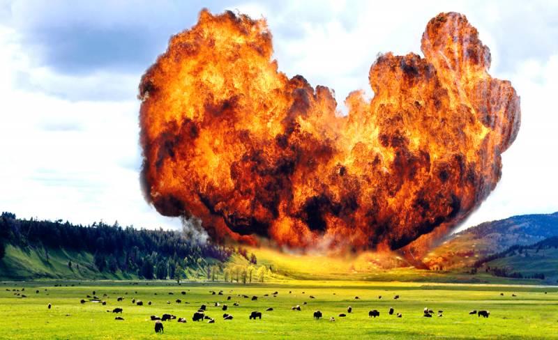 Йеллоустоунский вулкан уничтожит пол-Америки