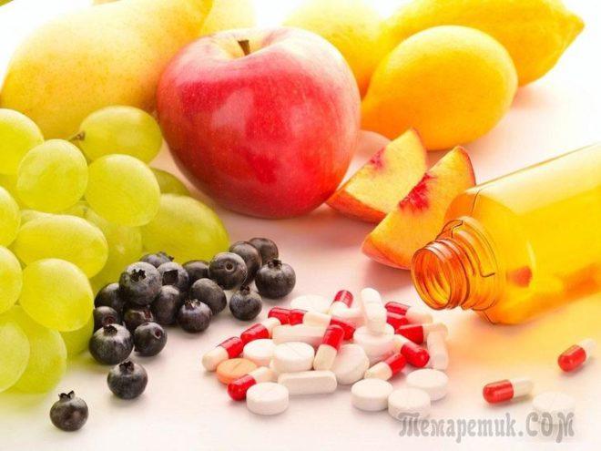 6 Жизненно необходимых витаминов и минералов