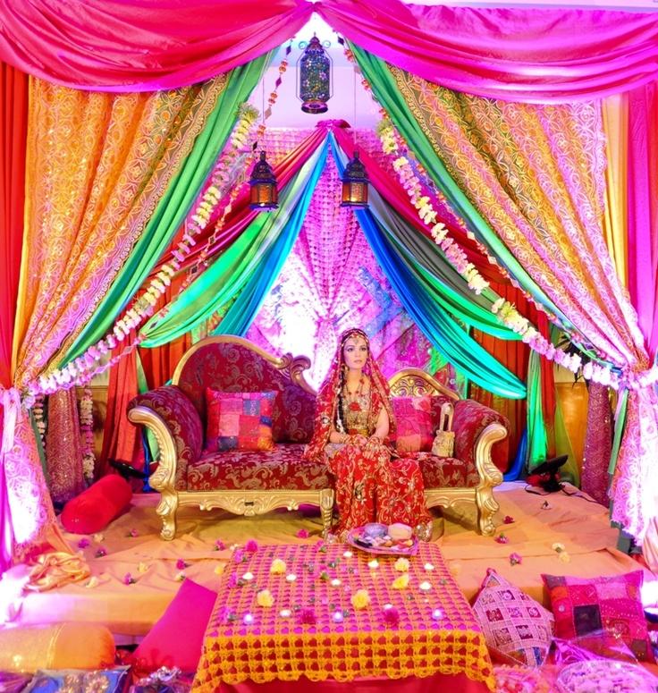 Индийская вечеринка декор
