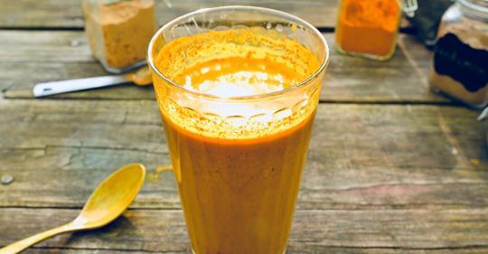 Как сделать коричный чай с куркумой, чтобы устранить воспаление