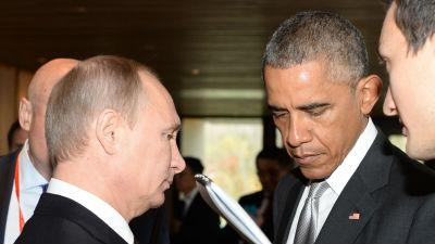 Путин и Обама обсудили ситуа…