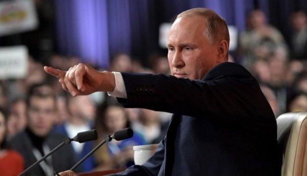 Ответ президента РФ Путина н…