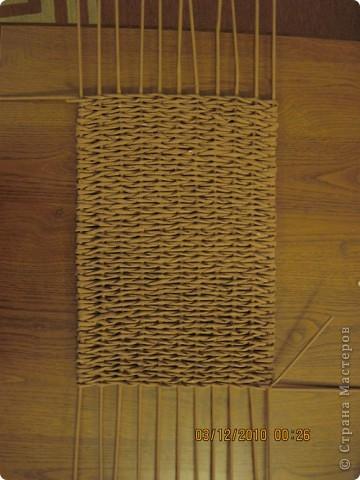 Мастер-класс,  Плетение, : Плетение квадратной (прямоугольной ) коробки Бумага газетная . Фото 14