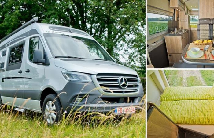 Mercedes-Benz превратили в дом на колесах для 4-х человек