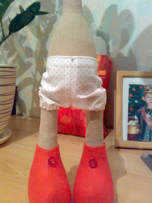 Кукла стоящая на ногах своими руками