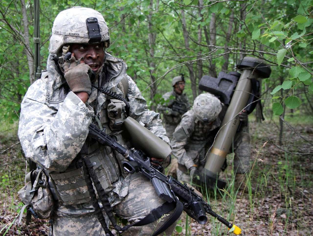 Недалеко от Логвиново заблокировано подразделение специальных сил НАТО
