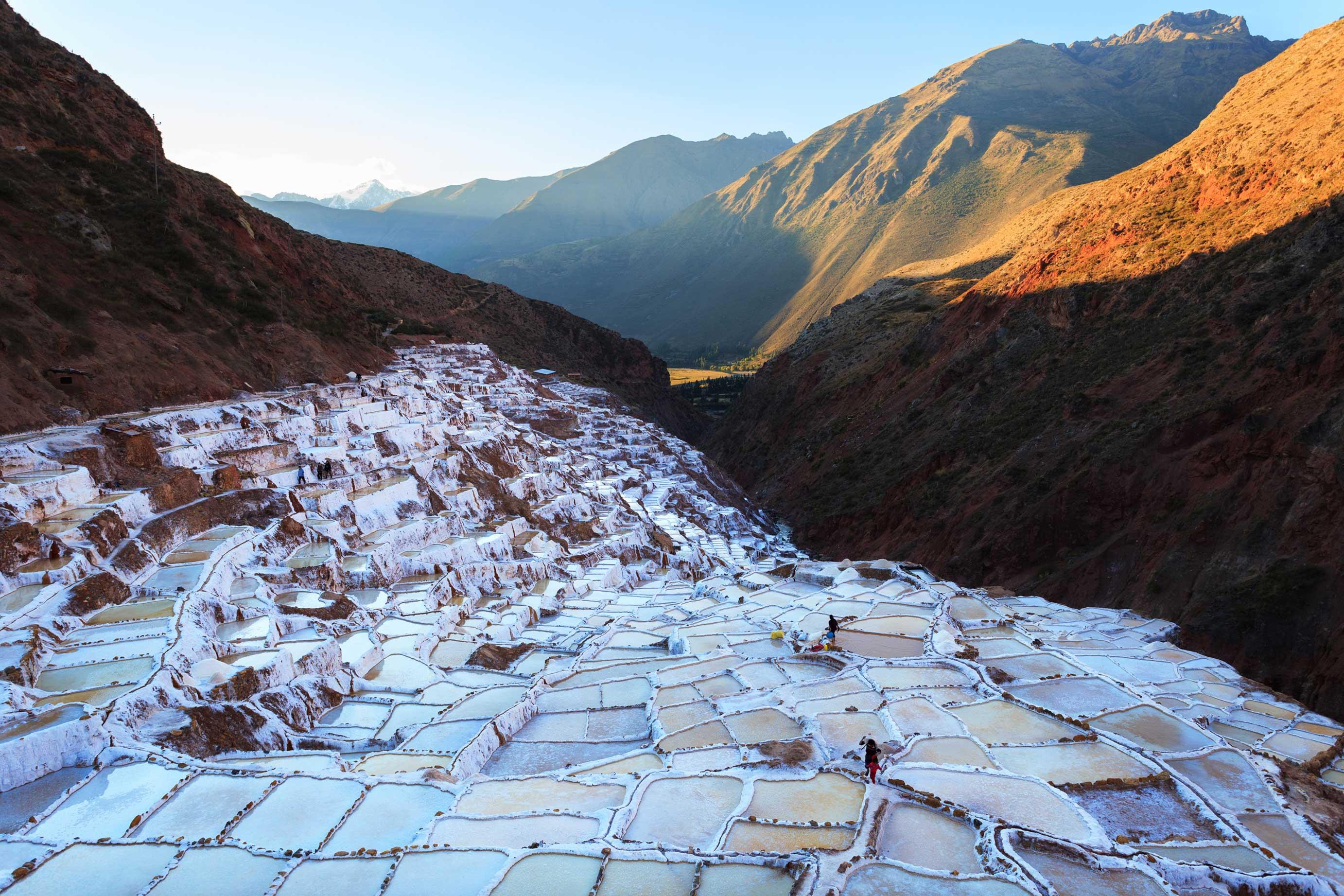 Соляные террасы Марас (Maras), Перу